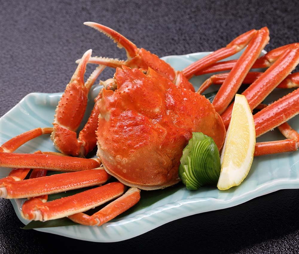 蟹の夕食イメージ1